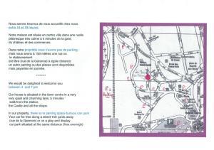 Grundriss der Unterkunft La Maison du Carroir
