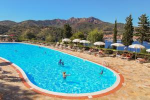 The swimming pool at or near Grand Hotel Elba International