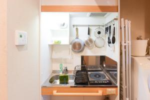 A kitchen or kitchenette at Shibuya - house / Vacation STAY 634
