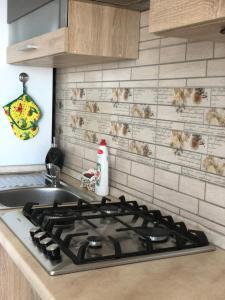 Кухня или мини-кухня в Апартаменты на Шахматной