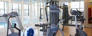 The fitness center and/or fitness facilities at Best Western Plus Amsterdam Airport Hotel