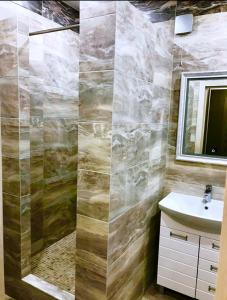 Ванная комната в Apartments
