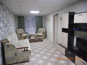 Гостиная зона в Hotel Traktir Yamschik