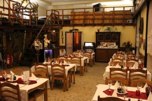 A restaurant or other place to eat at Hotel Max Šimek