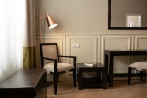 אזור ישיבה ב-Residence Hirscher