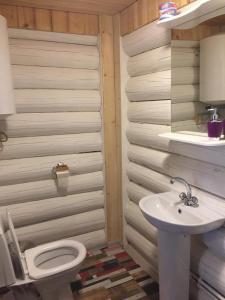 Ванная комната в Гостиница Абырвалг