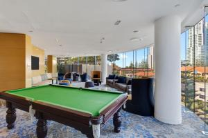 A pool table at Oracle - 5 Star Luxury - Level 25