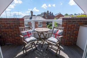 A balcony or terrace at Britannia House