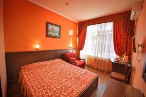 Кровать или кровати в номере Катран