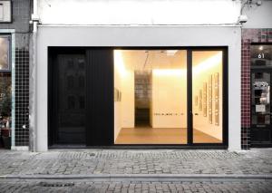 De façade/entree van Puerto Patershol