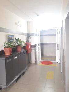 """Кухня или мини-кухня в Apartment """"Rodnye Berega"""""""