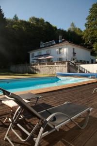 The swimming pool at or near Villa Moncoeur