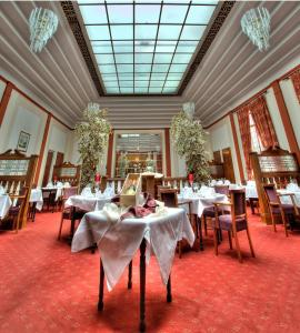 A restaurant or other place to eat at The Lucan Spa Hotel