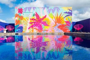 The swimming pool at or near Shoreline Hotel Waikiki - No Resort Fee