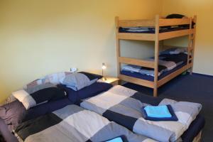 Palanda nebo palandy na pokoji v ubytování Apartmán Skicentrum Říčky