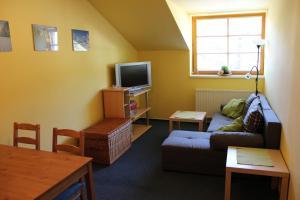 Posezení v ubytování Apartmán Skicentrum Říčky