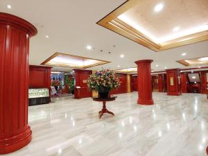 The lobby or reception area at Sejong Hotel Seoul Myeongdong