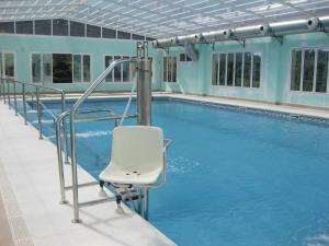 The swimming pool at or near Hotel Sierra Luz