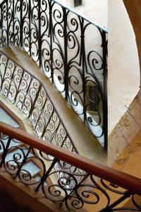 A balcony or terrace at Chambres d'hôtes Artelit