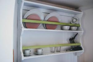 Η κουζίνα ή μικρή κουζίνα στο Fotinos House Skiathos