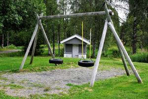 Lekeplass på NMS Camp Sjusjøen