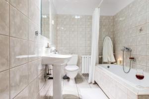 Łazienka w obiekcie Liberta INN - Pokoje Gościnne