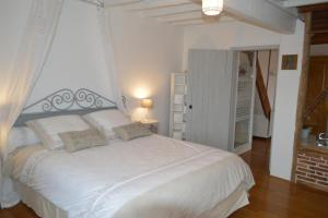 Un ou plusieurs lits dans un hébergement de l'établissement gîte du Clos Sébastien