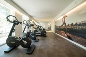 Centrum fitness w obiekcie Hotel Continental Valldemossa