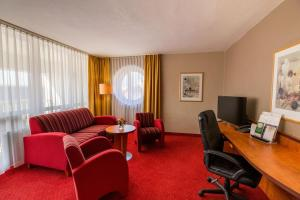Гостиная зона в Best Western Plus Hotel Bautzen