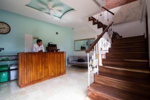 The lobby or reception area at Casa Centenario