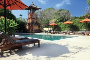 The swimming pool at or near The Pavilions Bali