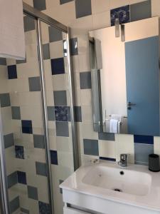 A bathroom at Residencial Beira