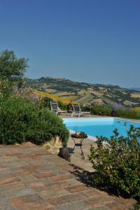 The swimming pool at or near Il Picchio Verde