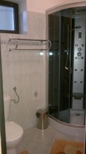 Koupelna v ubytování UBYTOVNA U HUBERTA - ZNOJMO centrum