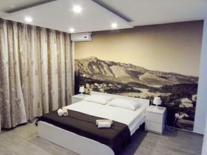 Кровать или кровати в номере Villa Nobilo