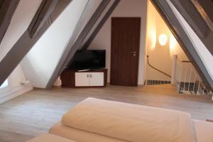 TV/Unterhaltungsangebot in der Unterkunft Hotel Schmales Haus