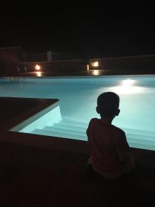 Πισίνα στο ή κοντά στο Βίλα Καλλίοπη