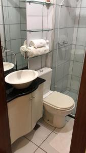 A bathroom at Um lugar especial para sua estadia em Brasília