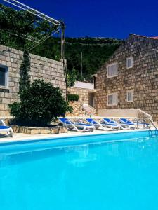 The swimming pool at or near Apartments Anamaria