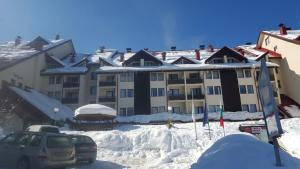 Deluxe Apartments during the winter