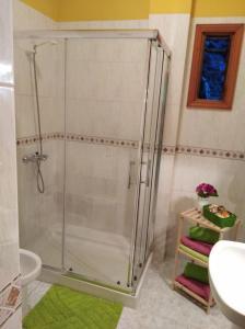 A bathroom at Apartamentos La Banda
