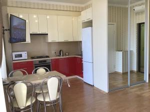 Кухня или мини-кухня в Apartments Zoya