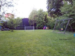 Children's play area at Zu den blauen Schwertern Meißen