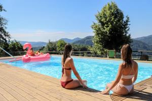 The swimming pool at or near Country House Na Škaluc