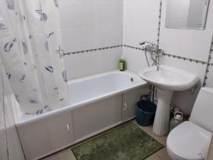 Ванная комната в гостиница Иловлинская