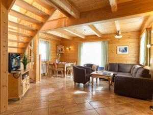 אזור ישיבה ב-AlpenParks Hagan Lodge Altaussee
