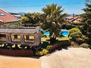 Vista de la piscina de Hotel Conde Navío o alrededores