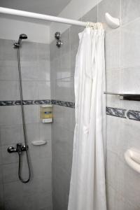A bathroom at Abril Hotel Boutique