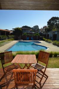 The swimming pool at or near Riverside Ocean Grove