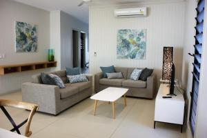 A seating area at Pet Friendly Family Hideaway